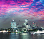 City business center wolkenkrabbers londen — Stockfoto