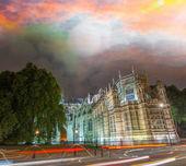 Westminster Palace, exterior view — Stockfoto