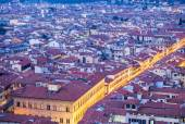 Streets and rooftops of Florence — Stock Photo