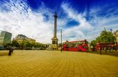 Double decker bus in London — Stock Photo