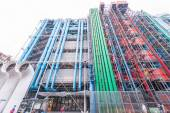 The Pompidou cultural center in Paris — Stock Photo