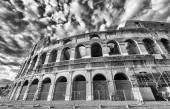 Colosseum on a beautiful day — Stock Photo