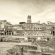 Mercati di Traiano and Fori Imperiali — Stock Photo #62291733
