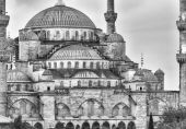 Magnificence of Blue Mosque — Stock Photo