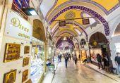 Grote bazaar in istanbul — Stockfoto