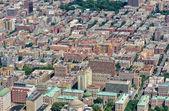 Manhattan skyline and buildings — Stock Photo