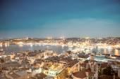 Stunning Istanbul night skyline — Stock Photo