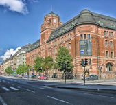 Stockholm architecture city view — Stock Photo