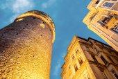 The Galata Tower, Beyoglu - Istanbul — Stock Photo