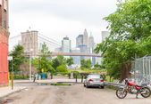 New York. Brooklyn Bridge — Stock Photo