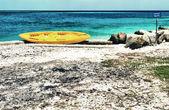 Tropical Island view — Stockfoto