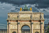 Arc de Triomphe du Carrousel in Paris — Stock Photo