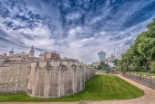 Tower of London on a sunny day — Fotografia Stock