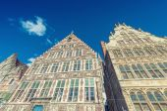 Beautiful architecture of Gent, Belgium — Stock Photo