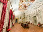 PISA, ITALY - MAY 16, 2015: Interior of Calci Charterhouse. The — Stock Photo