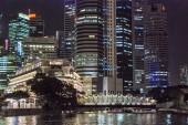 新加坡美丽的风景线 — 图库照片