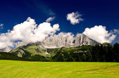 Nature of Austrian Alps — Stock Photo