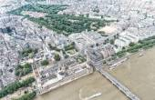 Aerial view of Westminster Palace, London — Stock Photo
