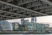London riverside skyline — Stock Photo