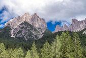 Stunning Alps summer panorama — Stock Photo