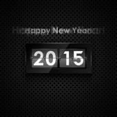 Happy new year 2015 card — Stock Vector