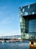 Harpa  Reykjavik Concert Hall and Conference Centre — Foto Stock
