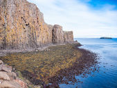 The cliff of Sagandisey. Stykkisholmur, Iceland. — 图库照片