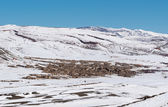 Agoudal, the highest village in Morocco, Africa — Stock Photo