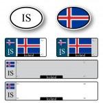 Iceland auto set — Stock Vector #62591075
