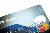 Close up photo of credit card — Zdjęcie stockowe