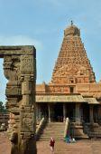 Brihadeeswara Temple, Thanjavur — Stock Photo