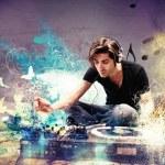 DJ playing music — Stock Photo #52506819