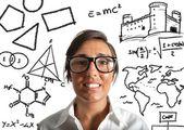 Genius teacher — Stockfoto