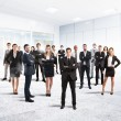 Partnership and teamwork with businesspeople — Stock Photo #55135525