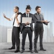 Business people very busy — Stock Photo #64665393