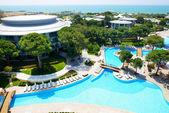 The swimming pools at luxury hotel, Antalya, Turkey — Stock Photo