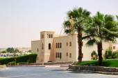 Holliday villa at the luxury hotel, Ras Al Khaimah, UAE — Stock Photo