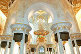 Sheikh Zayed Grand Mosque interior, Abu Dhabi, UAE — Stock Photo