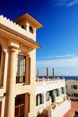 Building of the luxury hotel, Sharm el Sheikh, Egypt — Stock Photo