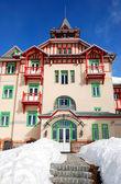 Modern luxury hotel at ski resort, High Tatras, Slovakia — Stock Photo