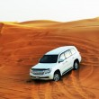 DUBAI, UAE - SEPTEMBER 12: The Dubai desert trip in off-road car — Stock Photo #60991427