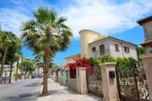 The street and buildings on Mallorca island, Spain — Stock Photo