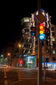 Prague at night. architecture — Stockfoto