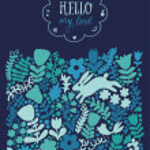 Vector texture with flowers, birds and butterflies. — Stock Vector #55964563