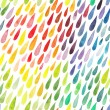 Watercolor colorful abstract background. — Vector de stock  #55963977