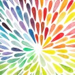 Vector watercolor colorful abstract background. — Vector de stock  #55964481