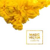 Vector Ink swirling in water — Stock Vector