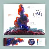 Vector abstract cloud. — Stock vektor