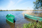 Lithuania lake — Stockfoto