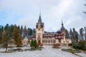 Peles castle in Romania — Stock Photo